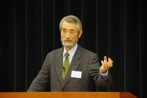 研究発表5『利他性の深化のために―モラロジーからのアプローチ―』(岩佐信道・客員教授)